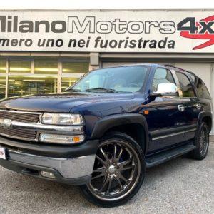 Chevrolet  Tahoe 5.3 V8 LT ** CERCHI 24′ ** GPL FINO AL 2029 **